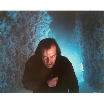 THE SHINING Original Lobby Card N02 - 8x10 in. - 1980 - Stanley Kubrick, Jack Nicholson
