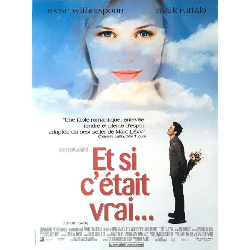 ET SI C'ETAIT VRAI Affiche de film - 40x60 cm. - 2005 - Reese Witherspoon, Mark Waters