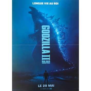 GODZILLA II Affiche de film - 40x60 cm. - 2019 - Millie Bobby Brown, Michael Dougherty