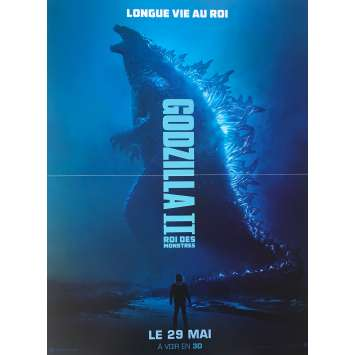 GODZILLA KING OF MONSTERS Original Movie Poster - 15x21 in. - 2019 - Michael Dougherty, Millie Bobby Brown