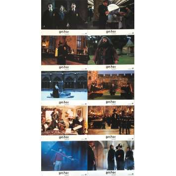 HARRY POTTER Original Lobby Cards - 9x12 in. - 2001 - Chris Colombus, Daniel Radcliffe