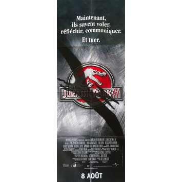 JURASSIC PARK III Original Movie Poster - 23x63 in. - 2001 - Steven Spielberg, Sam Neil