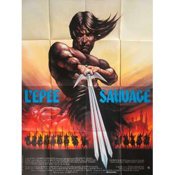 THE SWORD AND THE SORCERER Original Movie Poster - 47x63 in. - 1982 - Albert Pyun, Lee Horsley