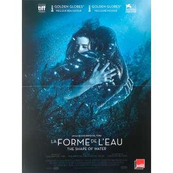 LA FORME DE L'EAU Affiche de film def. - 40x60 cm. - 2017 - Sally Hawkins, Guillermo Del Toro