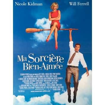 MA SORCIERE BIEN AIMEE Affiche de film - 40x60 cm. - 2005 - Nicole Kidman, Nora Ephron