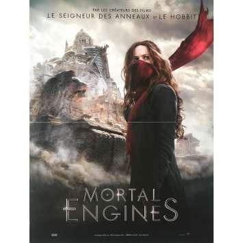 MORTAL ENGINES Affiche de film - 40x60 cm. - 2018 - Hera Hilmar, Christian Rivers