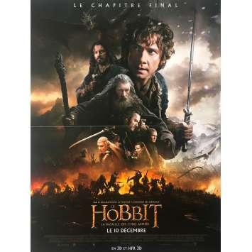 THE HOBBIT Affiche de film - 40x60 cm. - 2012 - Martin Freeman, Peter Jackson