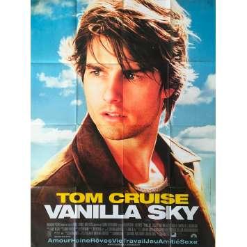 VANILLA SKY Affiche de film - 120x160 cm. - 2001 - Tom Cruise, Cameron Crowe