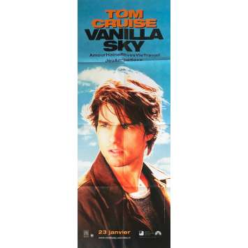 VANILLA SKY Affiche de film - 60x160 cm. - 2001 - Tom Cruise, Cameron Crowe