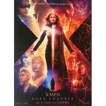 X-MEN : DARK PHOENIX Original Movie Poster - 15x21 in. - 2019 - Simon Kinberg, Sophie Turner