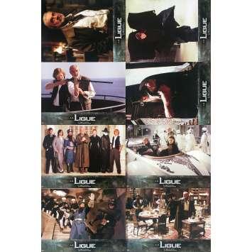 THE LEAGUE OF EXTRAORDINARY GENTLEMEN Original Lobby Cards - 9x12 in. - 2003 - Stephen Norrington, Sean Connery