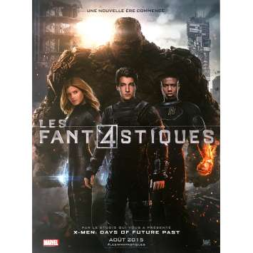 FANTASTIC FOUR Original Movie Poster - 15x21 in. - 2015 - Josh Trank, Kate Mara