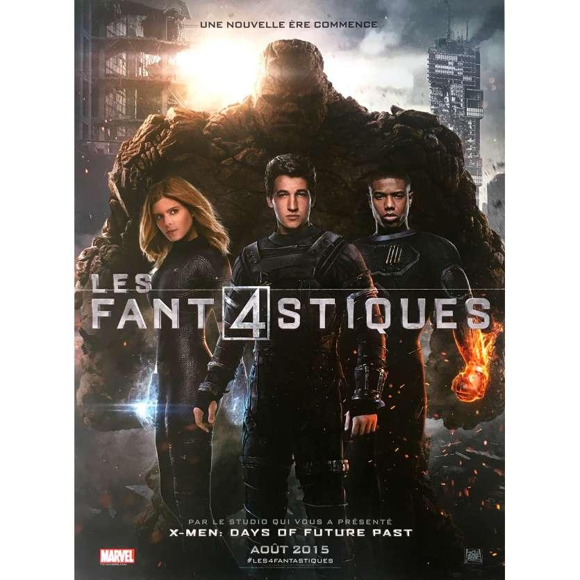 FANTASTIC FOUR Original Movie Poster - 15x21 in. - 2015 - Josh Trank, Kate Mara