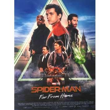 SPIDER-MAN FAR FROM HOME Affiche de film - 40x60 cm. - 2019 - Tom Holland, Jon Watts