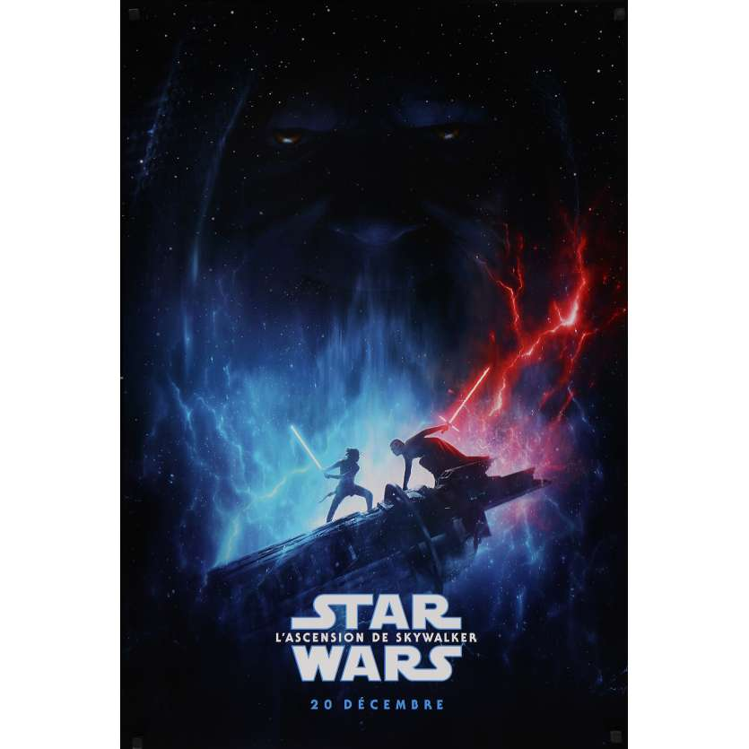 STAR WARS - THE RISE OF SKYWALKER IX 9 Original Movie Poster - 27x41 in. - 2019 - J.J. Abrams, Daisy Ridley