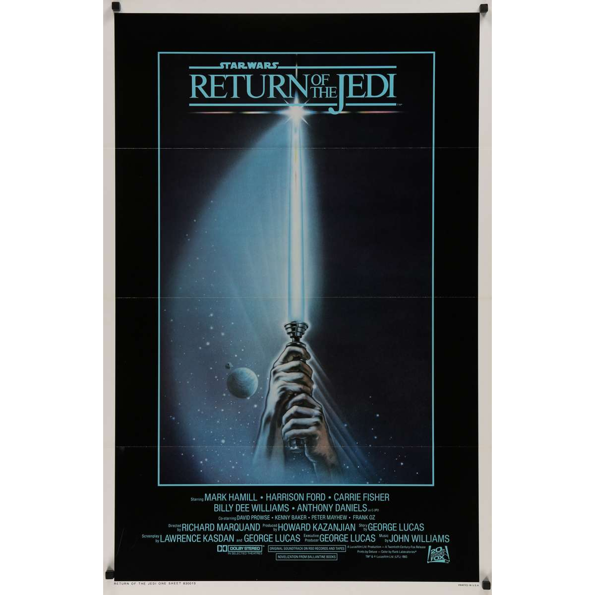 Star Wars The Return Of The Jedi Us Movie Poster