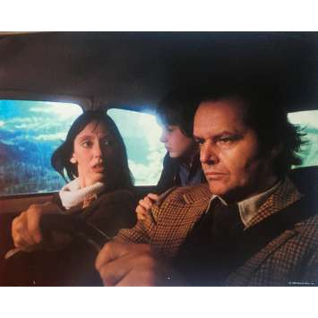 THE SHINING Original Lobby Card N09 - 8x10 in. - 1980 - Stanley Kubrick, Jack Nicholson