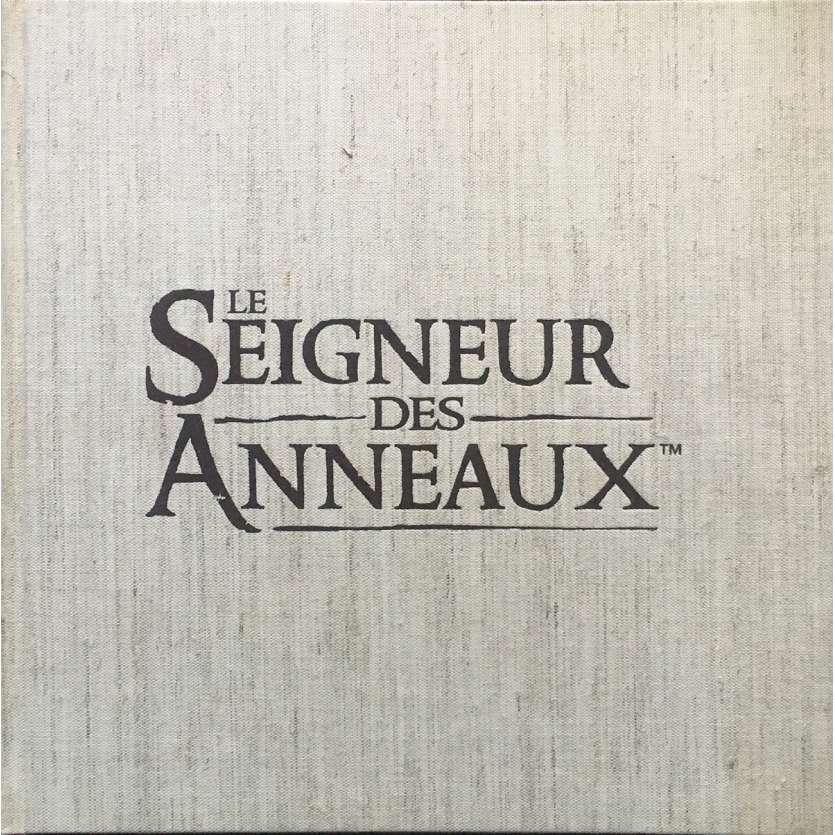 LE SEIGNEUR DES ANNEAUX - LA COMMUNAUTE Dossier de presse 60p - 30x40 cm. - 2001 - Viggo Mortensen, Peter Jackson