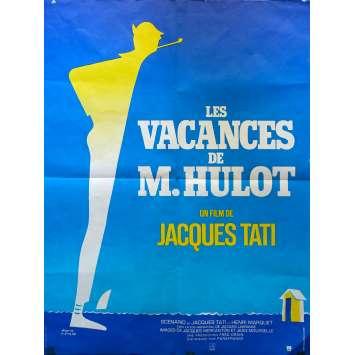 LES VACANCES DE MR HULOT Affiche de film - 60x80 cm. - 1953/R1970 - Paul Frankeur, Jacques Tati