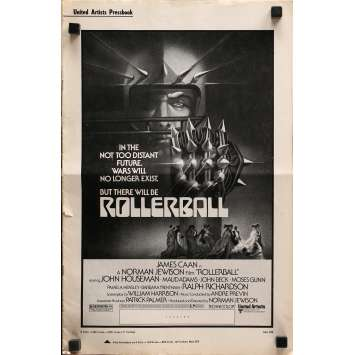 ROLLERBALL US Pressbook 12p 11x17 - 1975 - Norman Jewinson, James Caan