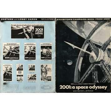 2001: A SPACE ODYSSEY US Pressbook 14x19 - 1968 - Stanley Kubrick, Keir Dullea