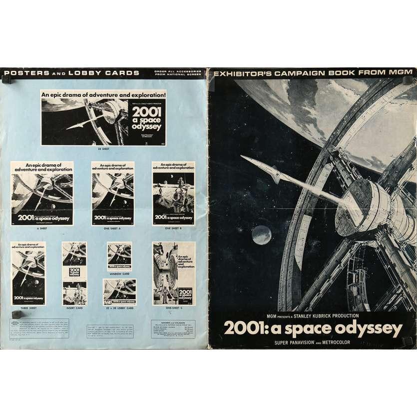 2001 L'ODYSSEE DE L'ESPACE Dossier de presse 36x48 - 1968 - Keir Dullea, Stanley Kubrick