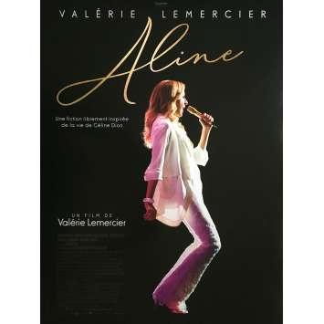 ALINE Affiche de film - 40x60 cm. - 2020 - Carole Weyers, Valérie Lemercier