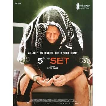 FIFTH SET Original Movie Poster - 15x21 in. - 2020 - Quentin Reynaud, Alex Lutz