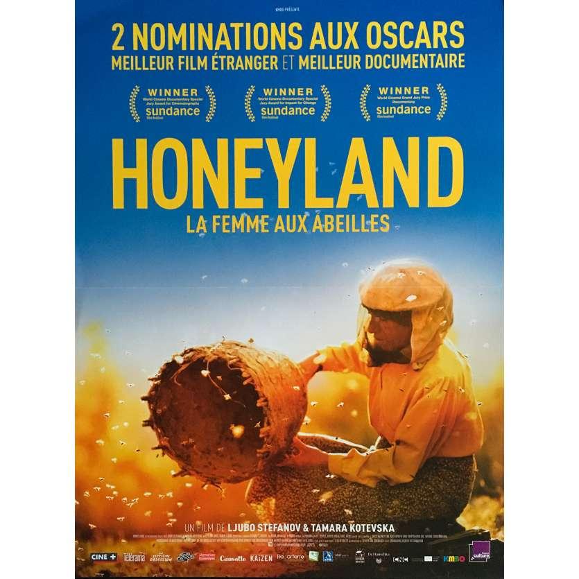 HONEYLAND Original Movie Poster - 15x21 in. - 2020 - Tamara Kotevska, Hatidze Muratova