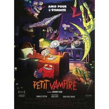 PETIT VAMPIRE Affiche de film - 40x60 cm. - 2020 - Camille Cottin, Joann Sfar