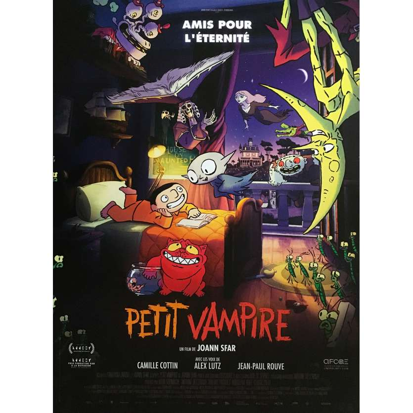 LITTLE VAMPIRE Original Movie Poster - 15x21 in. - 2020 - Joann Sfar, Camille Cottin