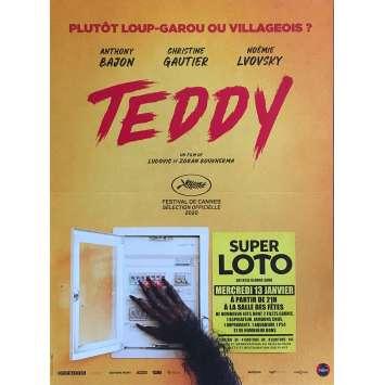 TEDDY Affiche de film - 40x60 cm. - 2020 - Anthony Bajon, Ludovic Boukherma