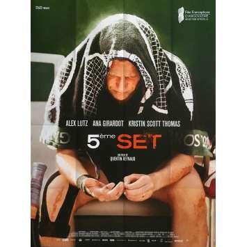 FIFTH SET Original Movie Poster - 47x63 in. - 2020 - Quentin Reynaud, Alex Lutz