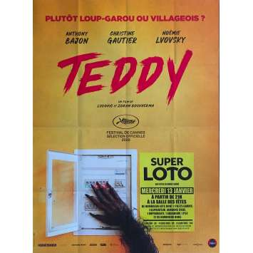 TEDDY Affiche de film - 120x160 cm. - 2020 - Anthony Bajon, Ludovic Boukherma
