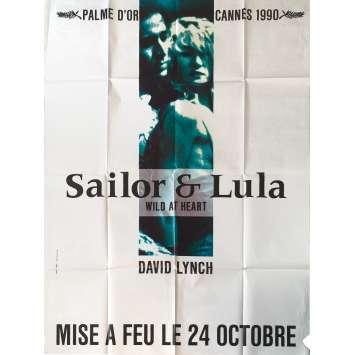 WILD AT HEART Original Movie Poster - 47x63 in. - 1990 - David Lynch, Nicolas Cage