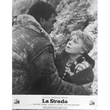 LA STRADA Original Lobby Card - 10x12 in. - 1954 - Federico Fellini, Anthony Quinn, Giulietta Masina