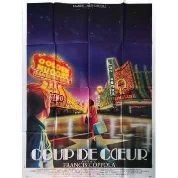 COUP DE CŒUR Affiche de film - 120x160 cm. - 1982 - Nastassja Kinski, Francis Ford Coppola