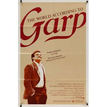 THE WORLD ACCORDING TO GARP Original Movie Poster - 27x40 in. - 1982 - George Roy Hill, Robin Williams