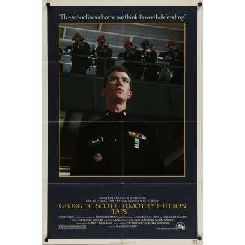 TAPS Original Movie Poster - 27x40 in. - 1981 - Harold Becker, George C. Scott