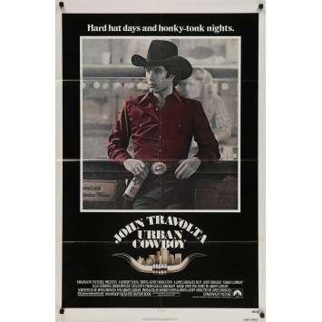 URBAN COWBOY Original Movie Poster - 27x40 in. - 1980 - James Bridges, John Travolta