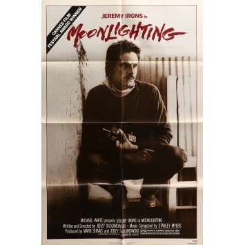 MOONLIGHTNING Original Movie Poster - 27x40 in. - 1982 - Jerzy Skolimowski, Jeremy Irons