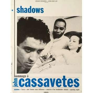 SHADOWS Affiche de film - 40x60 cm. - 1958 - Ben Carruthers, John Cassavetes