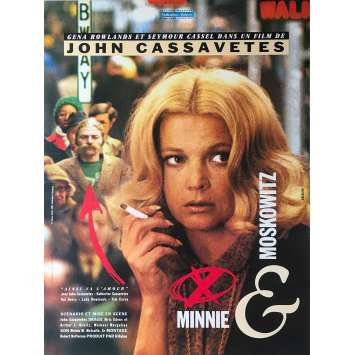 MINNIE AND MOSKOWITZ Original Movie Poster - 15x21 in. - 1971 - John Cassavetes, Gena Rowlands, Seymour Cassel