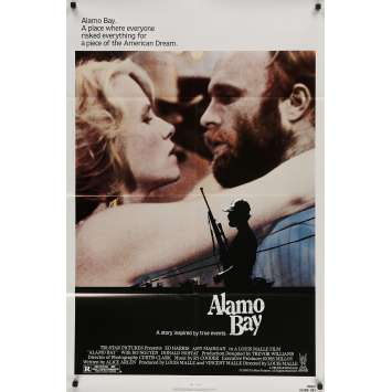 ALAMO BAY Original Movie Poster - 27x40 in. - 1985 - Louis Malle, Ed Harris