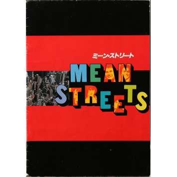 MEAN STREETS Programme - 21x30 cm. - 1973 - Robert de Niro, Martin Scorsese