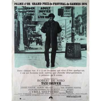 TAXI DRIVER Affiche de film - 60x80 cm. - 1976 - Robert de Niro, Martin Scorsese