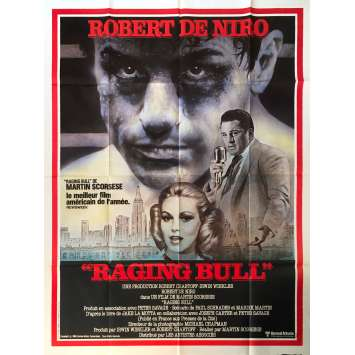 RAGING BULL Affiche de film - 120x160 cm. - 1980 - Robert de Niro, Martin Scorsese