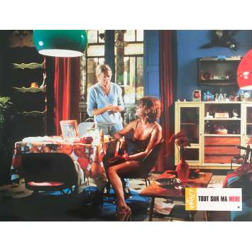 ALL ABOUT MY MOTHER Original Lobby Card N6 - 9x12 in. - 1999 - Pedro Almodovar, Cecilia Roth