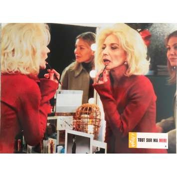 ALL ABOUT MY MOTHER Original Lobby Card N4 - 9x12 in. - 1999 - Pedro Almodovar, Cecilia Roth