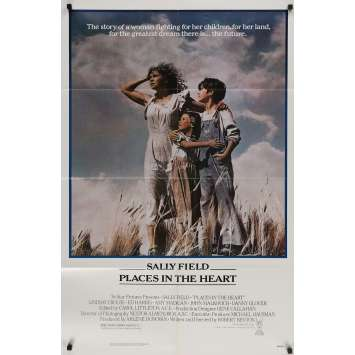 PLACES IN THE HEART Original Movie Poster - 27x40 in. - 1984 - Robert Benton, Sally Field